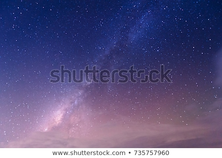 Purple night sky with stars Stock photo © vapi
