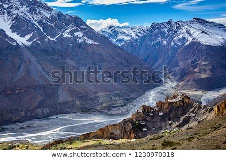 Indie dolinie charakter fotograf turystycznych kamery Zdjęcia stock © cookelma