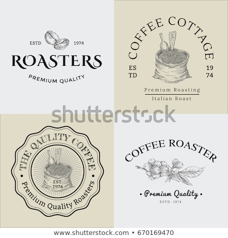 vintage template logos 01 Stock photo © Genestro