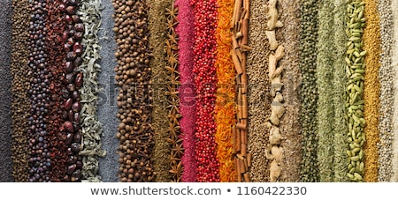 ярко набор специи азиатских кухня Сток-фото © sharpner