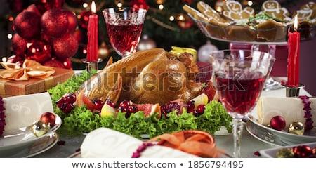 catering · bufê · servido · comida · banquete · tabela - foto stock © dashapetrenko