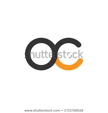 黄色 黒 アイコン ロゴタイプ サークル ストックフォト © blaskorizov