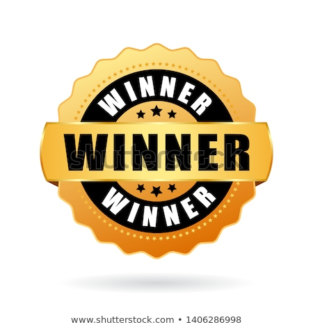 Gouden trofee beker vector kampioen prijs Stockfoto © pikepicture