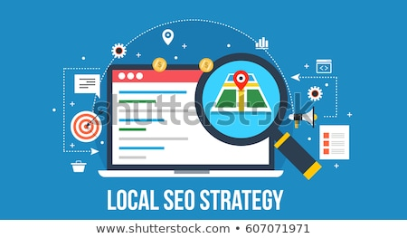 Local search optimization concept vector illustration Stock photo © RAStudio