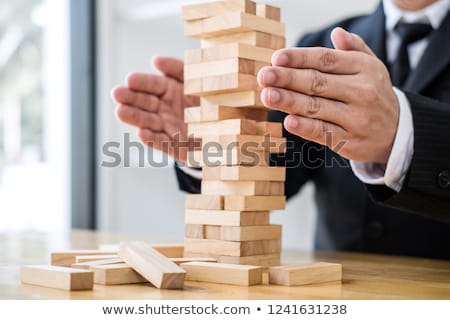 alternative risk concept plan and strategy in business risk to stock photo © freedomz