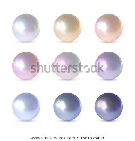 nine round shiny buttons in different colors Stock photo © SArts