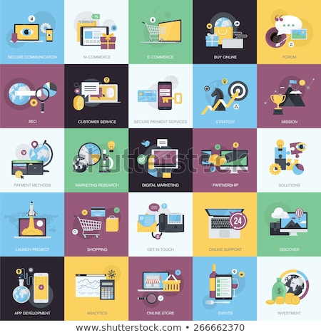 Illustration on the topic of the web development to advertise your services. Stock photo © ConceptCafe