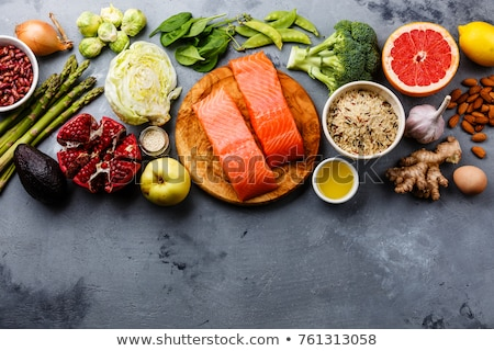 Antioxidants in products. Clean eating Stock photo © furmanphoto