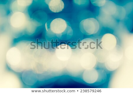 yellow shimmering bokeh sparkles beautiful background design Stock photo © SArts