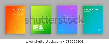 Zdjęcia stock: Zielone · książki · odizolowany · biały · papieru · przestrzeni