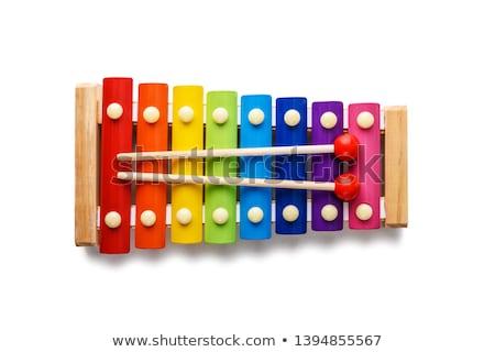 xylophone Stock photo © trgowanlock