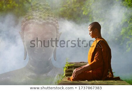 Buddhista templom Thaiföld díszes bejárat ajtó Stock fotó © rognar