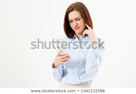 女性実業家 悪い知らせ セル ビジネス 幸せ 電話 ストックフォト © photography33