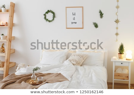 The branch with small night lamp Stock photo © Traven