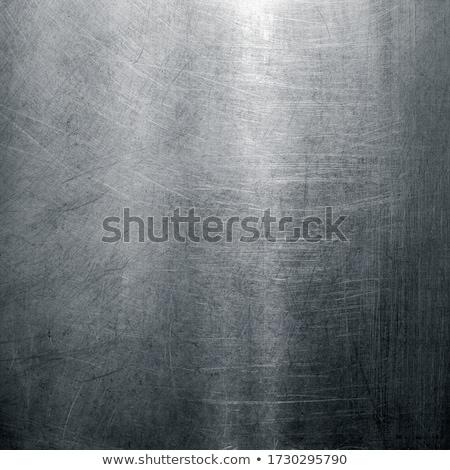 argento · arrugginito · metal · texture · wallpaper · muro · design - foto d'archivio © redpixel