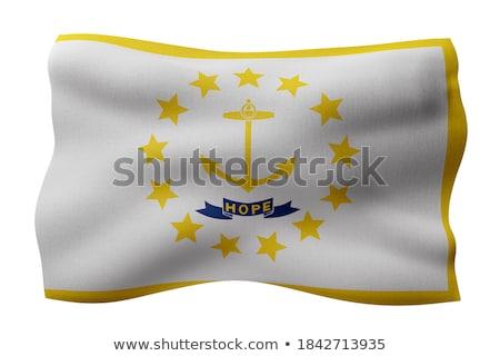 rhode island state flag Stock photo © tony4urban