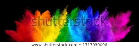 Peinture définition couleur trois couleurs forme Photo stock © idesign