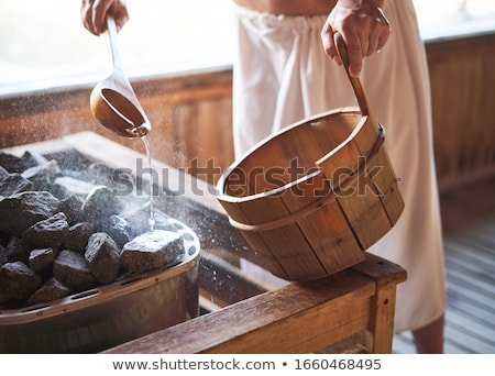 dentro · turco · vapor · banho · parede · saúde - foto stock © koufax73