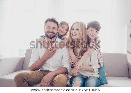 portrait of a brunet all smiles Stock photo © photography33
