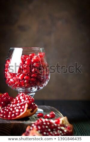 Ahşap doku doğa yaprak meyve arka plan Stok fotoğraf © inaquim