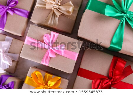 Colourful giftwrap and packaging Stock photo © veralub