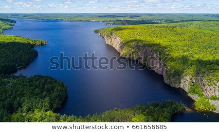 Bon Echo Cliffs Stock photo © Gordo25