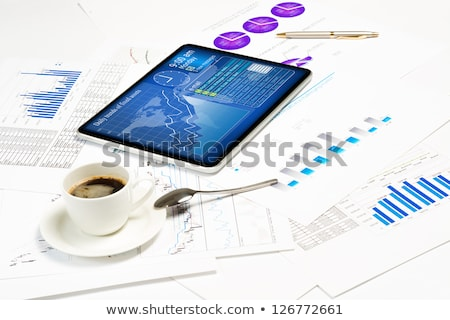 gadgets and financial documents still life stock photo © adam121