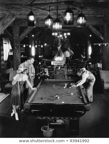 billiard saloon Stock photo © val_th