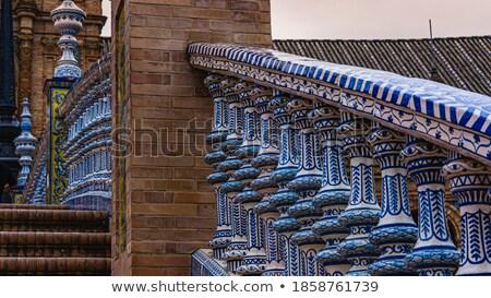 Ceramic detail monumental bridge Stock photo © Hofmeester