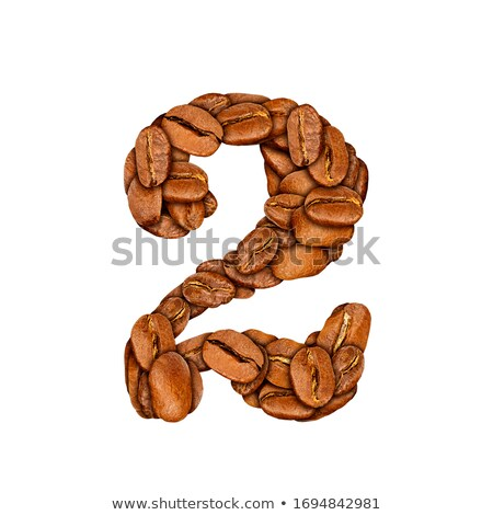cup made from coffee beans stock photo © discovod