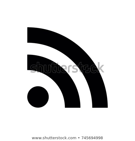 RSS icon Stock photo © milsiart