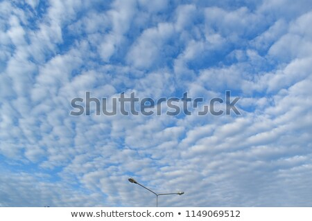 Altocumulus clouds - natural skyscape background Stock photo © pzaxe