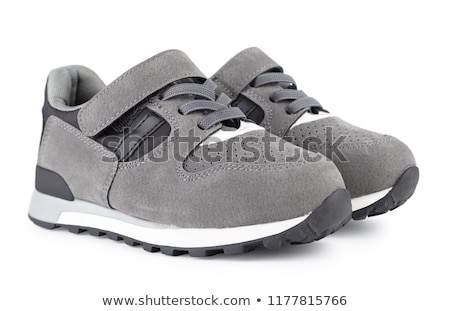 Sporting gray shoes Stock photo © RuslanOmega