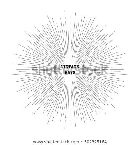 Radiating Lines Stock photo © silkenphotography