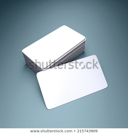 Sign Up Business cards with rounded corners Stock photo © stevanovicigor