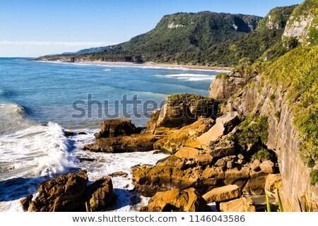 Eroded coastline Stock photo © bigandt