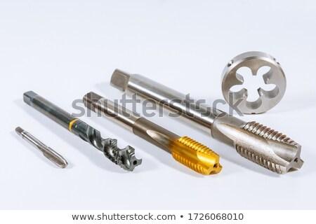 Dotknij strony narzędzie zestaw pracy przemysłowych Zdjęcia stock © FOKA
