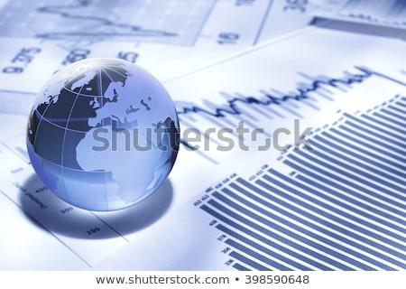 世界中 ビジネス 論文 お金 壁 地図 ストックフォト © designers