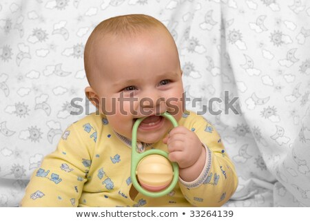 Primo denti bambini tutti faccia Foto d'archivio © grechka333