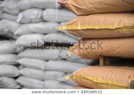 Zout magazijn groot vers ingesteld Stockfoto © fogen