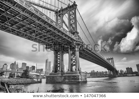Manhattan bridge, NYC. Stock photo © iofoto