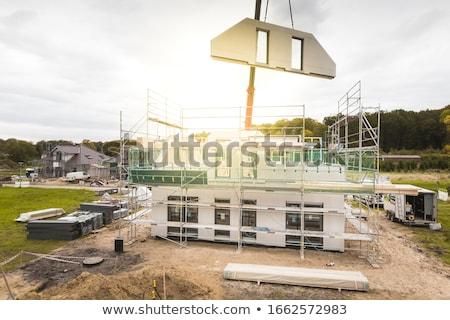 family house construction stock photo © kubais