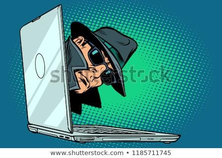 スパイ 実例 タキシード 男 スーツ 黒 ストックフォト © Krisdog