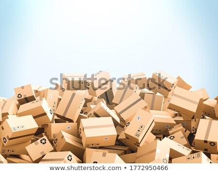 Hoop colli licht een vak Stockfoto © gemenacom