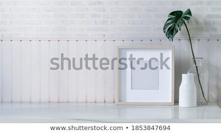 vidro · arte · exibir · casa · café · estúdio - foto stock © hd_premium_shots