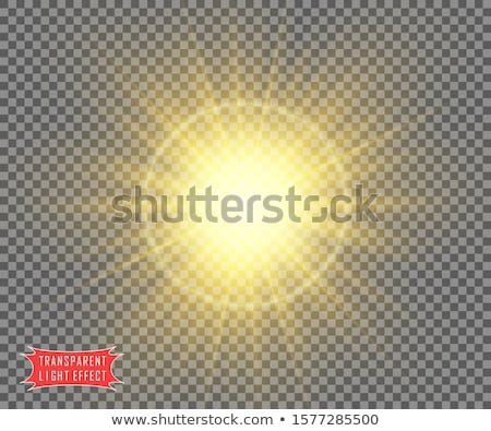 ファンキー 日光 行 実例 抽象的な 光 ストックフォト © arenacreative