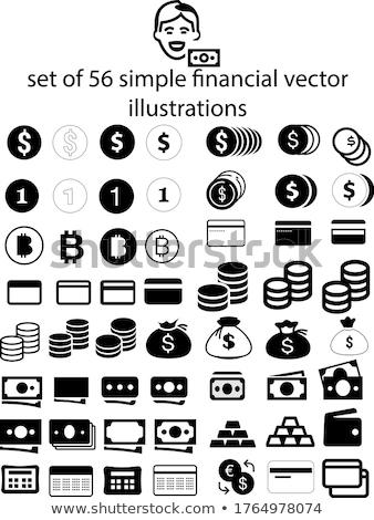 Photo stock: Vecteur · carte · de · crédit · icônes · symbole · paiement · monnaie