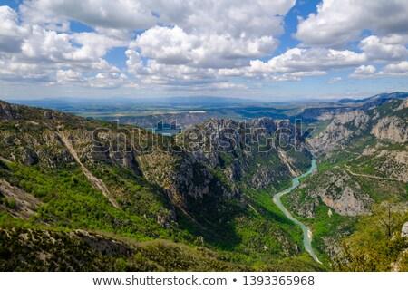 グランドキャニオン 山 岩 山 丘 谷 ストックフォト © LianeM