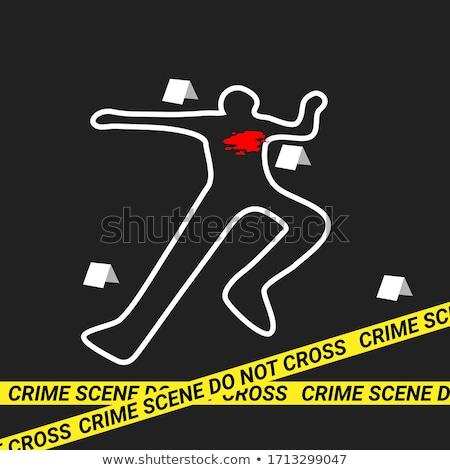 Lugar delincuencia imagen piernas ladrón bolsa Foto stock © pressmaster