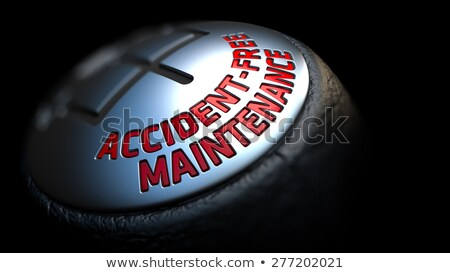 Accident-Free Maintenance on Gear Shift. Stock photo © tashatuvango